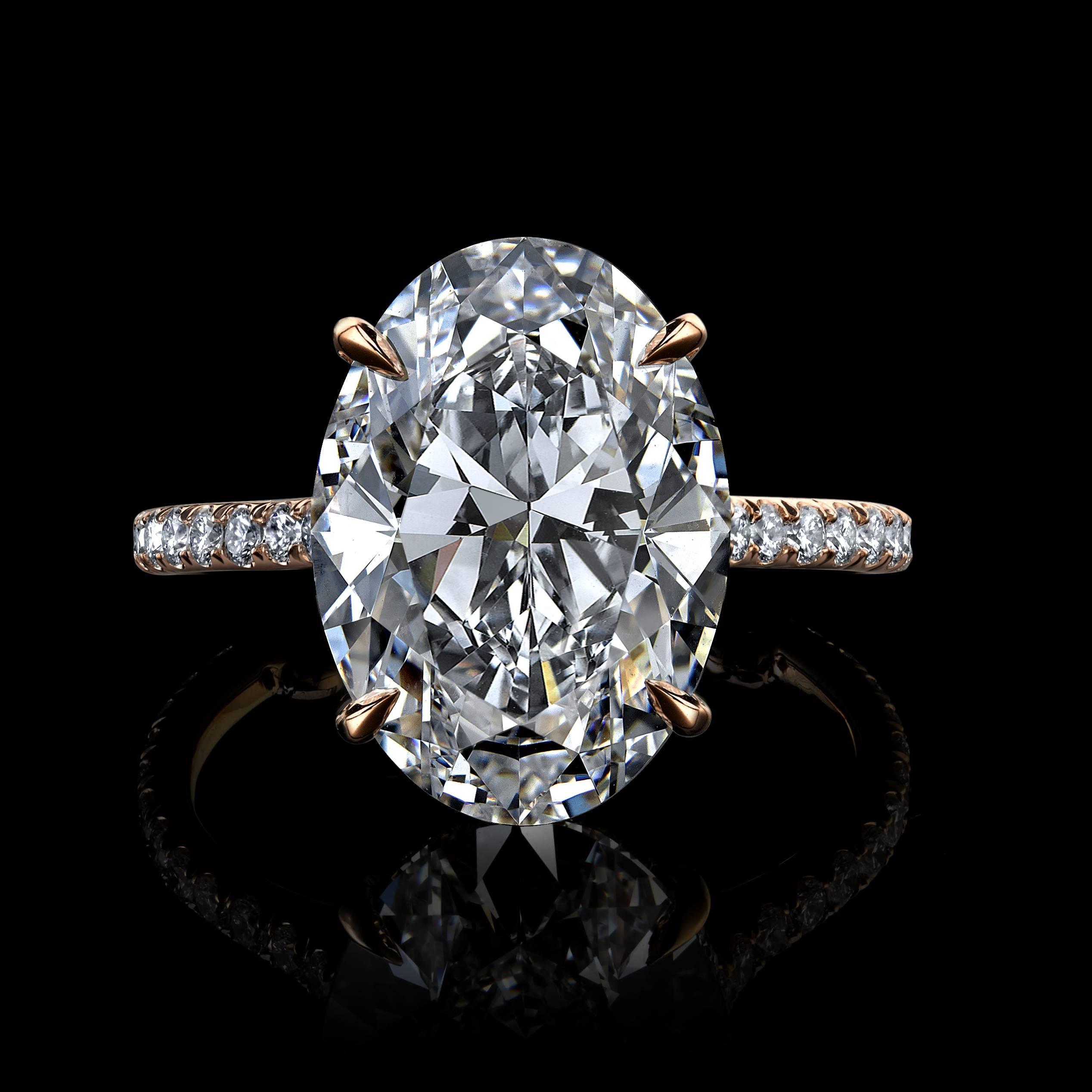 Jean Dousset Diamonds With Regard To Custom Engagement Rings (View 14 of 15)