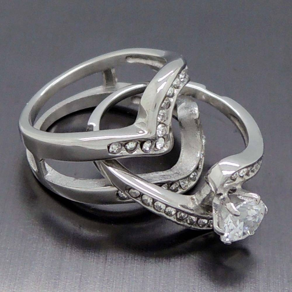com ring rings band puzzle silver bronze detail alibaba buy on product