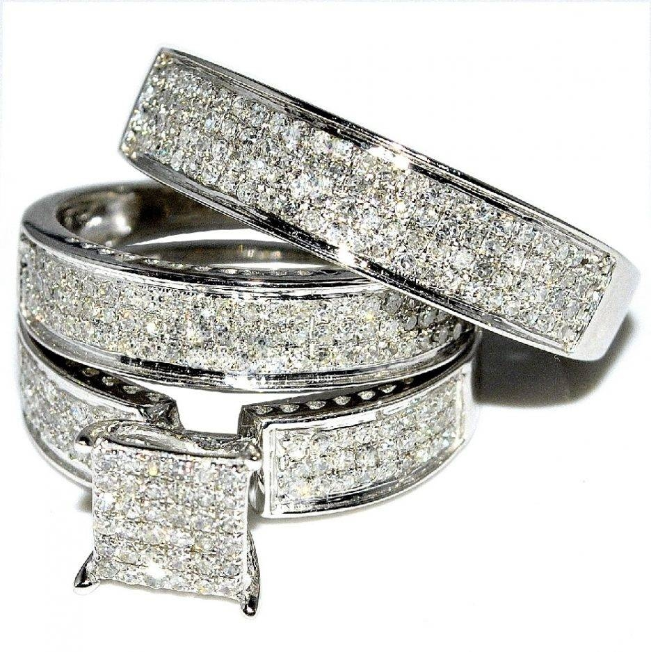 Jewelry Rings: Cheap Wedding Ring Sets For Him And Her Sensational For Engagement Ring Sets For Him And Her (View 5 of 15)