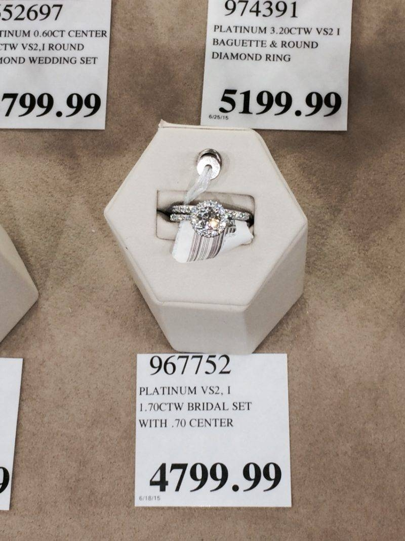 Jewelry Rings: Costco Engagement Rings Online Financing Reviews Inside Costco Princess Cut Engagement Rings (Gallery 14 of 15)