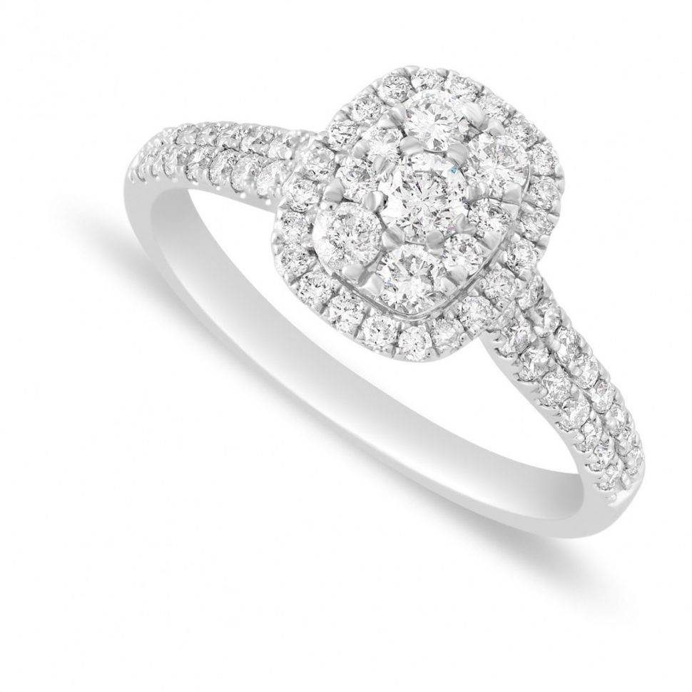 Jewelry Rings: Rings Stunning Cheap Engagement Under Cthite Gold With Engagement Rings For Under  (View 11 of 15)