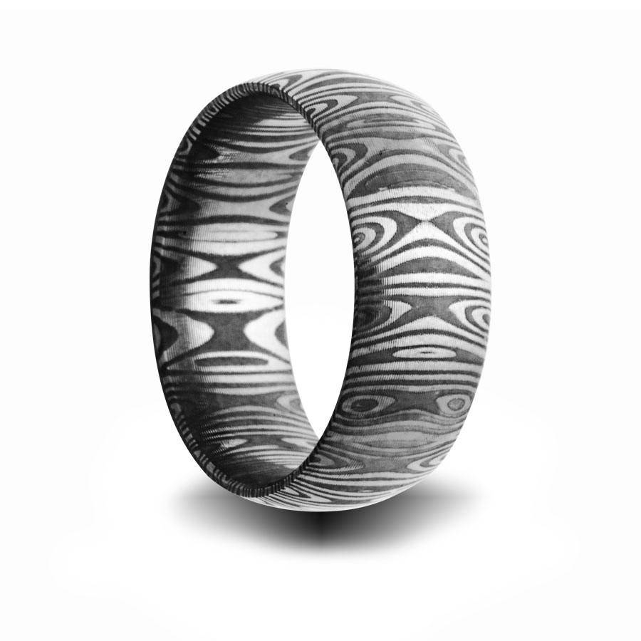 Jewelryrhonda – Wedding Rings, Wedding Bands, Alternative In Steel Wedding Bands (View 4 of 15)
