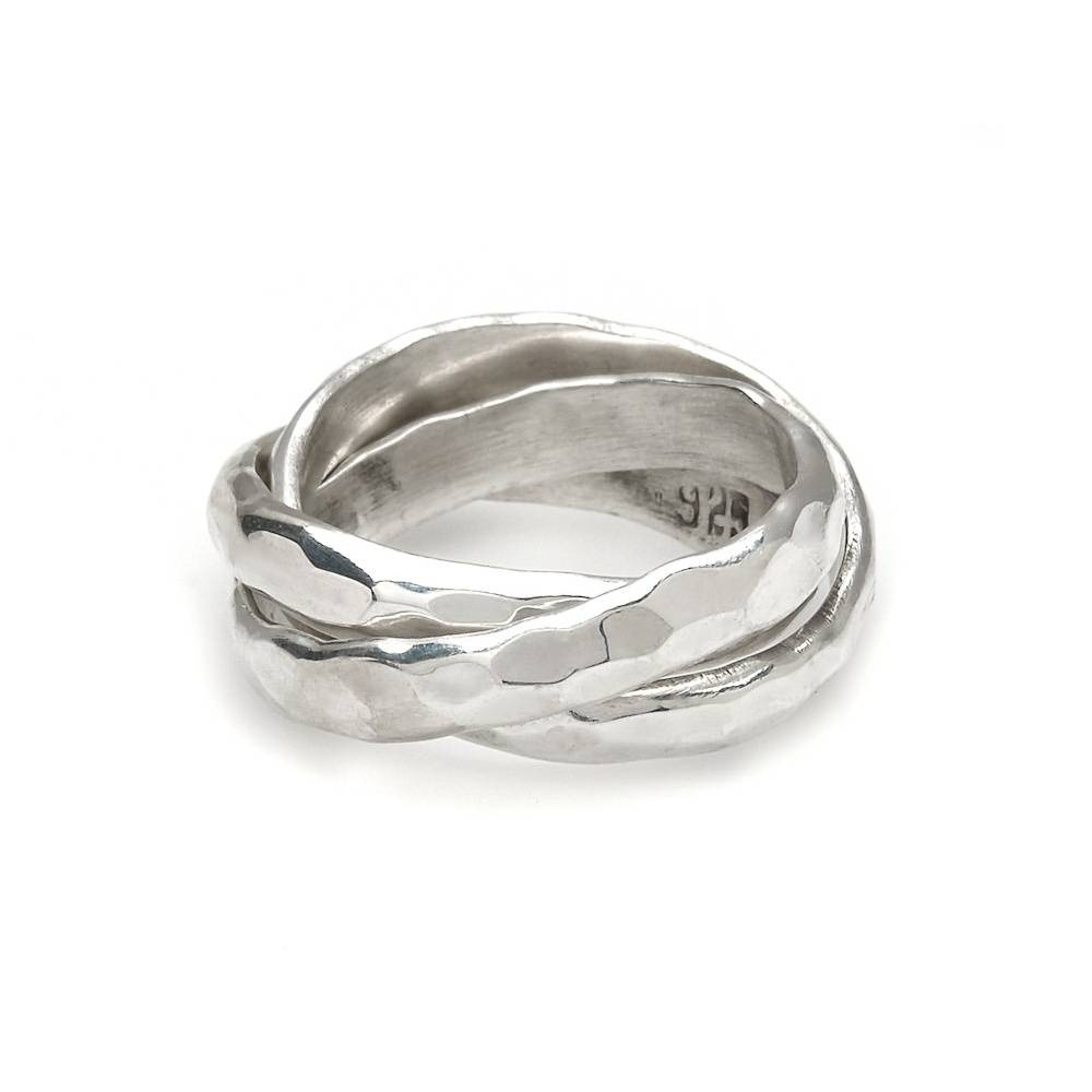 John Greed Silver Russian Wedding Ring | John Greed Jewellery Regarding Russian Wedding Rings (View 9 of 15)