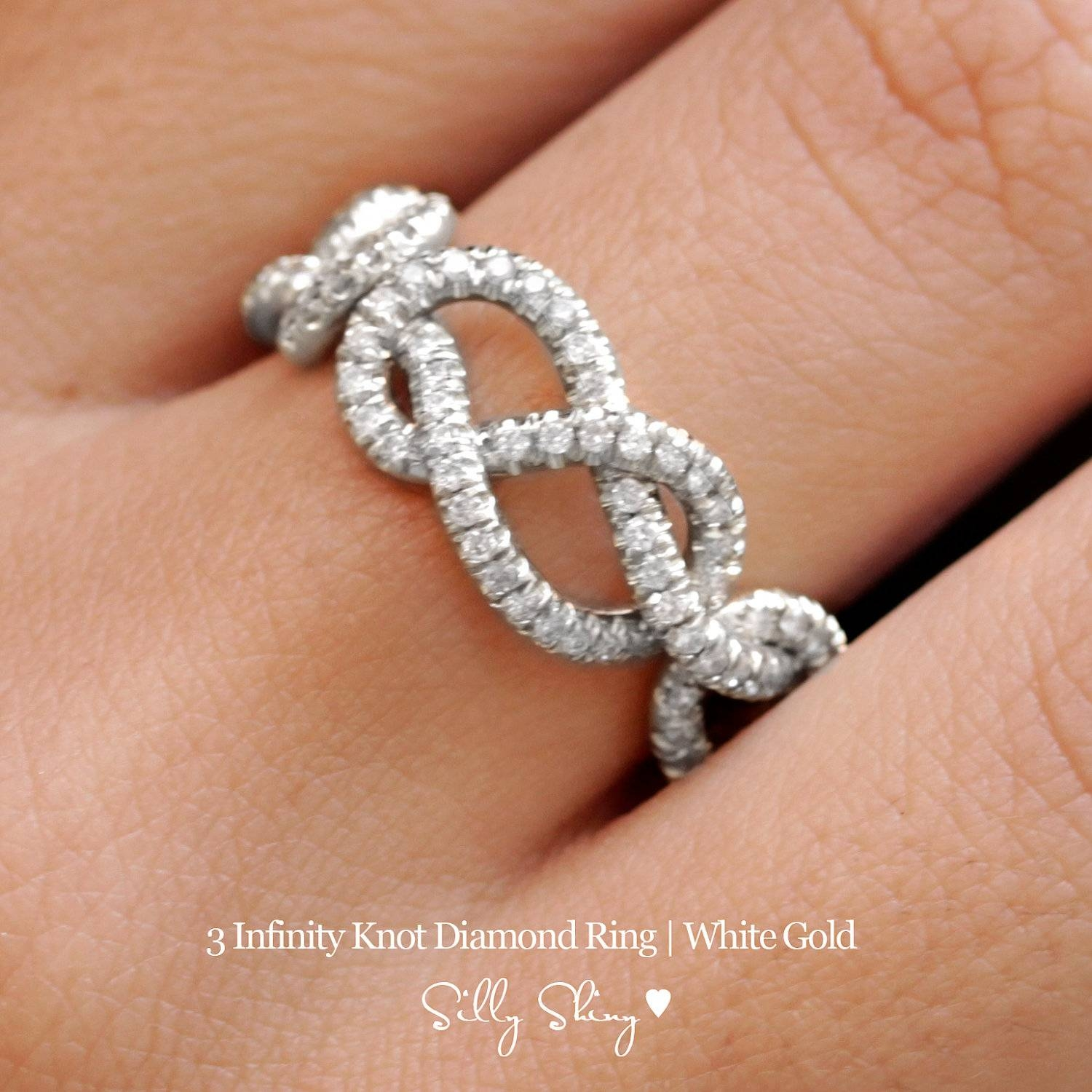 Jordan Diamond Rings | Wedding, Promise, Diamond, Engagement Rings Throughout Infinity Knot Engagement Rings (Gallery 13 of 15)