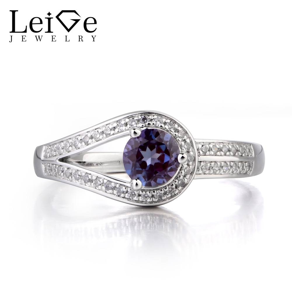gift silver from round women fine leige solid in june engagement birthstone jewelry alexandrite gemstone ring cut rings for item promise wedding