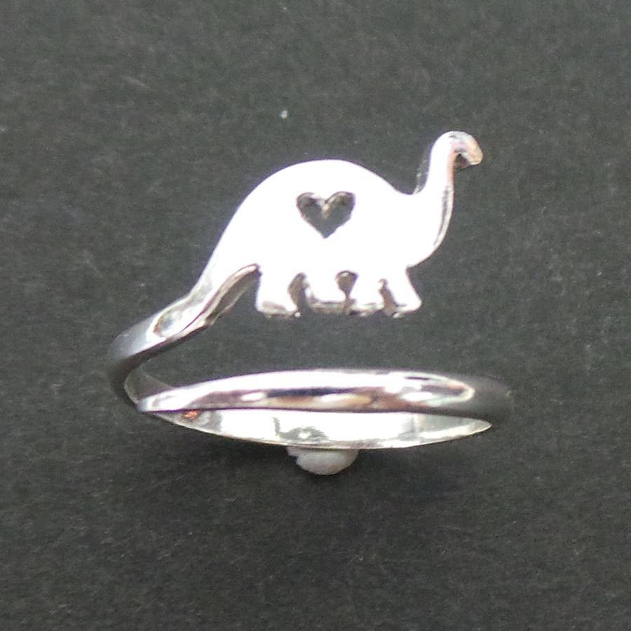 Jurassic Brachiosaurus Dinosaur Ring In Silver Dinosaurios With Regard To Dinosaur Engagement Rings (Gallery 6 of 15)