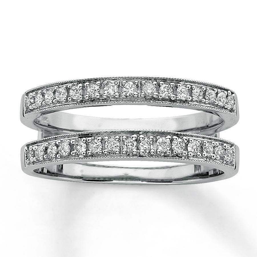 Kay – Diamond Wedding Bands 1/3 Ct Tw Round Cut 14K White Gold Throughout Kay Jewelry Wedding Bands (Gallery 12 of 15)
