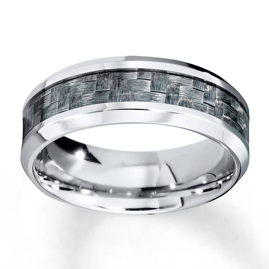 Kay – Men's Wedding Band Stainless Steel 8mm Regarding Steel Wedding Bands (View 9 of 15)