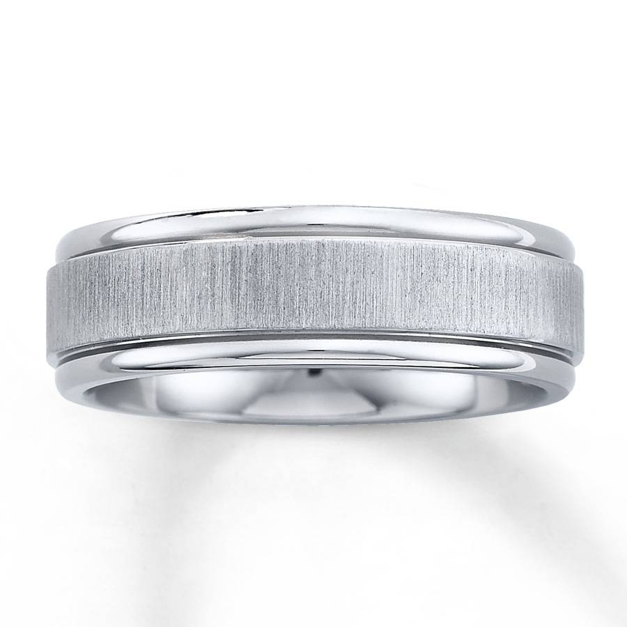 Kay – Men's Wedding Band Titanium 7Mm In Wedding Bands At Kay Jewelers (View 12 of 15)
