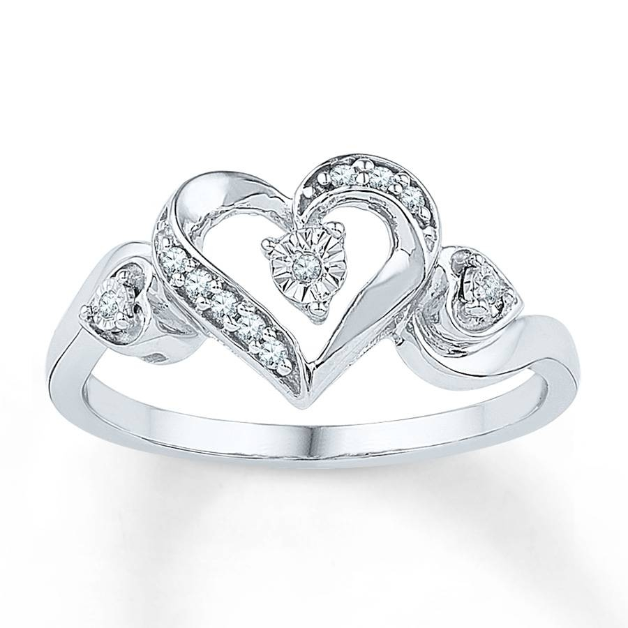 Kay – Promise Rings With Heart Engagement Rings (View 6 of 15)