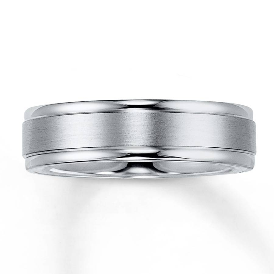 Kay – Wedding Band Platinum 6Mm With Platinum Wedding Rings Mens (View 7 of 15)