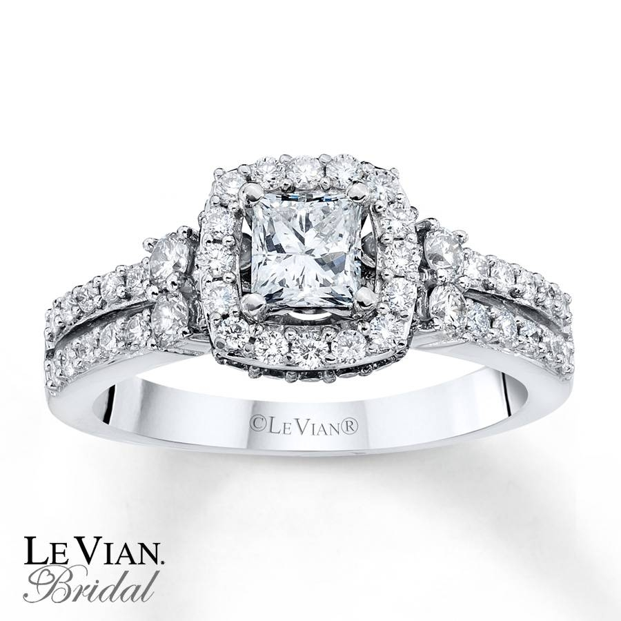 Kayoutlet – Le Vian Vanilla Diamonds 1 1/4 Ct Tw 14K Gold Pertaining To Le Vian Wedding Bands (Gallery 14 of 15)