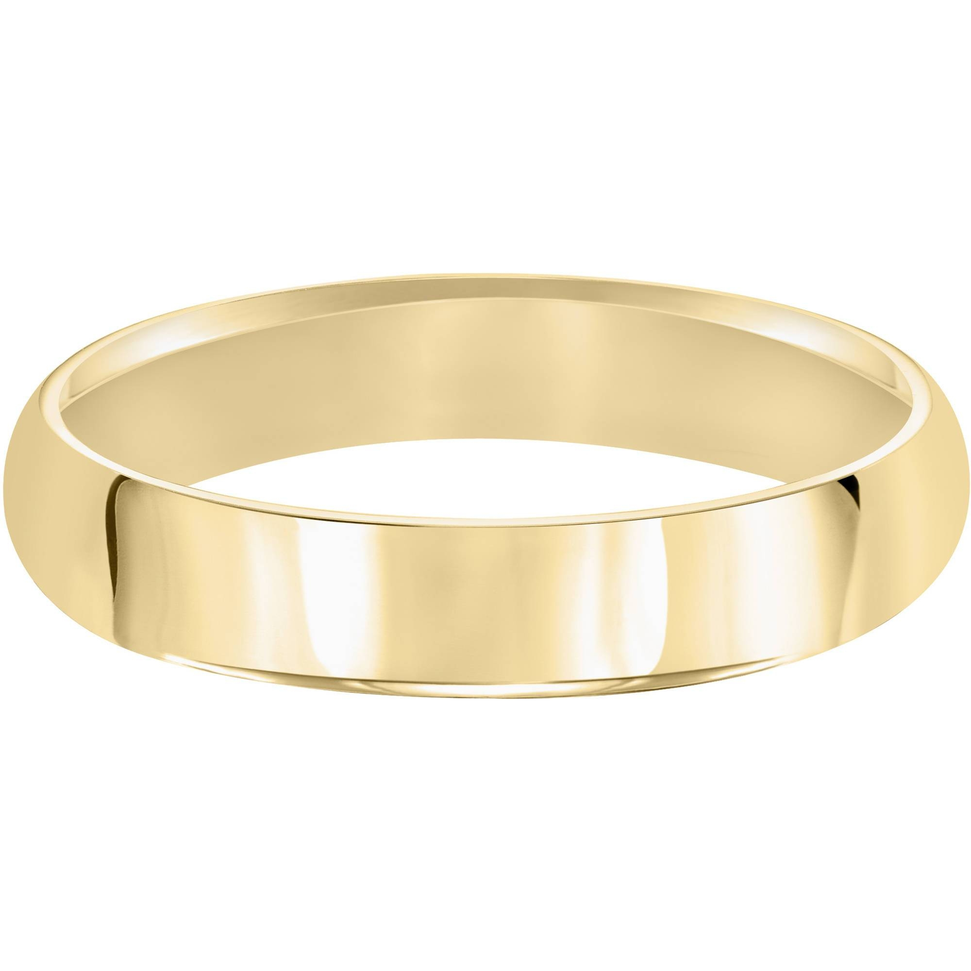Keepsake 10kt Yellow Gold Wedding Band With High Polish Finish Pertaining To Keepsake Wedding Bands (View 11 of 15)