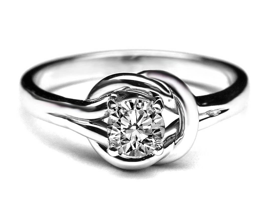 Knot – Engagement Rings From Mdc Diamonds Nyc Inside Love Knot Engagement Rings (View 9 of 15)
