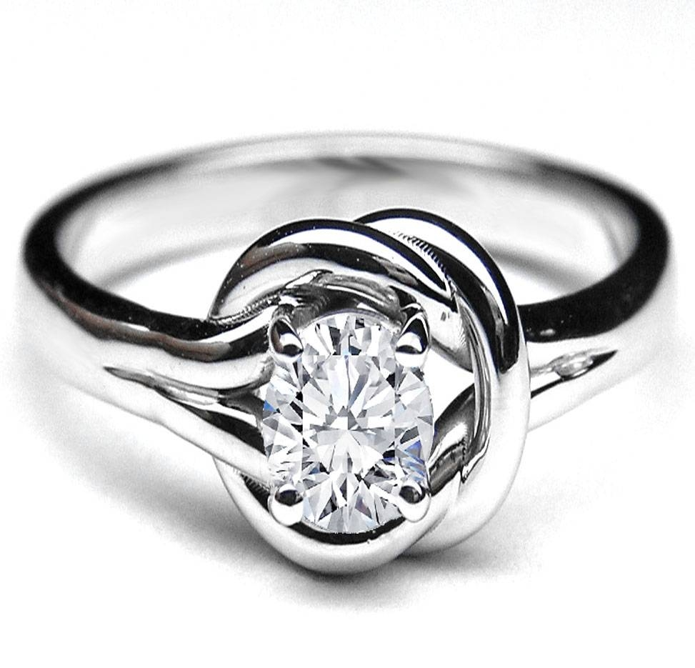 Knot – European Engagement Rings From Mdc Diamonds Nyc Intended For Celtic Love Knot Engagement Rings (View 2 of 15)