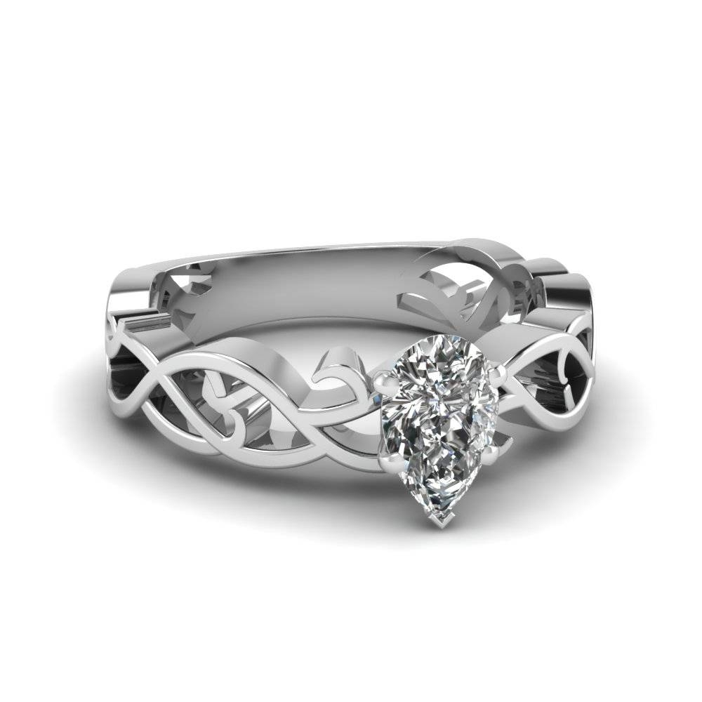 Latest Filigree Engagement Rings Style At Fascinating Diamonds Regarding Intricate Band Engagement Rings (View 11 of 15)