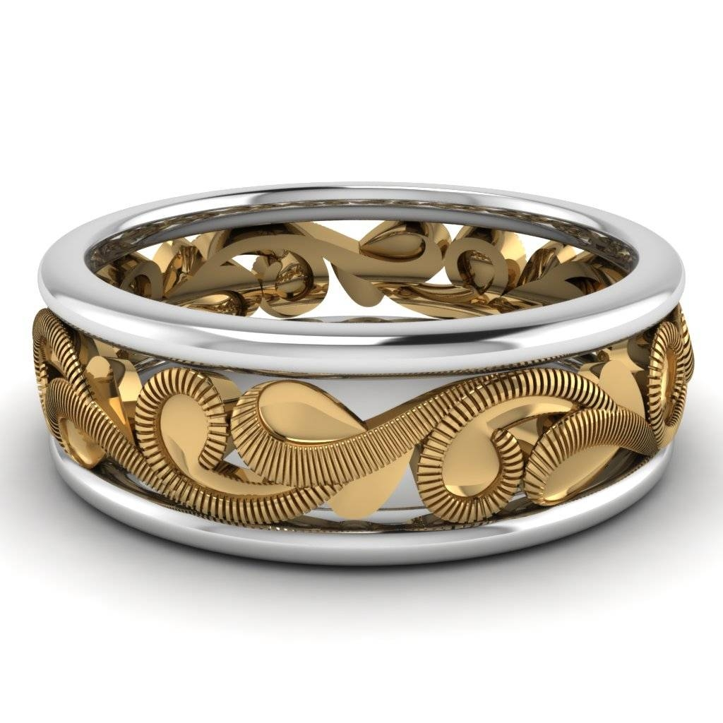 Latest Trends On Gold Rings For Mens Of Classy Males Throughout Antique Men's Wedding Bands (View 8 of 15)