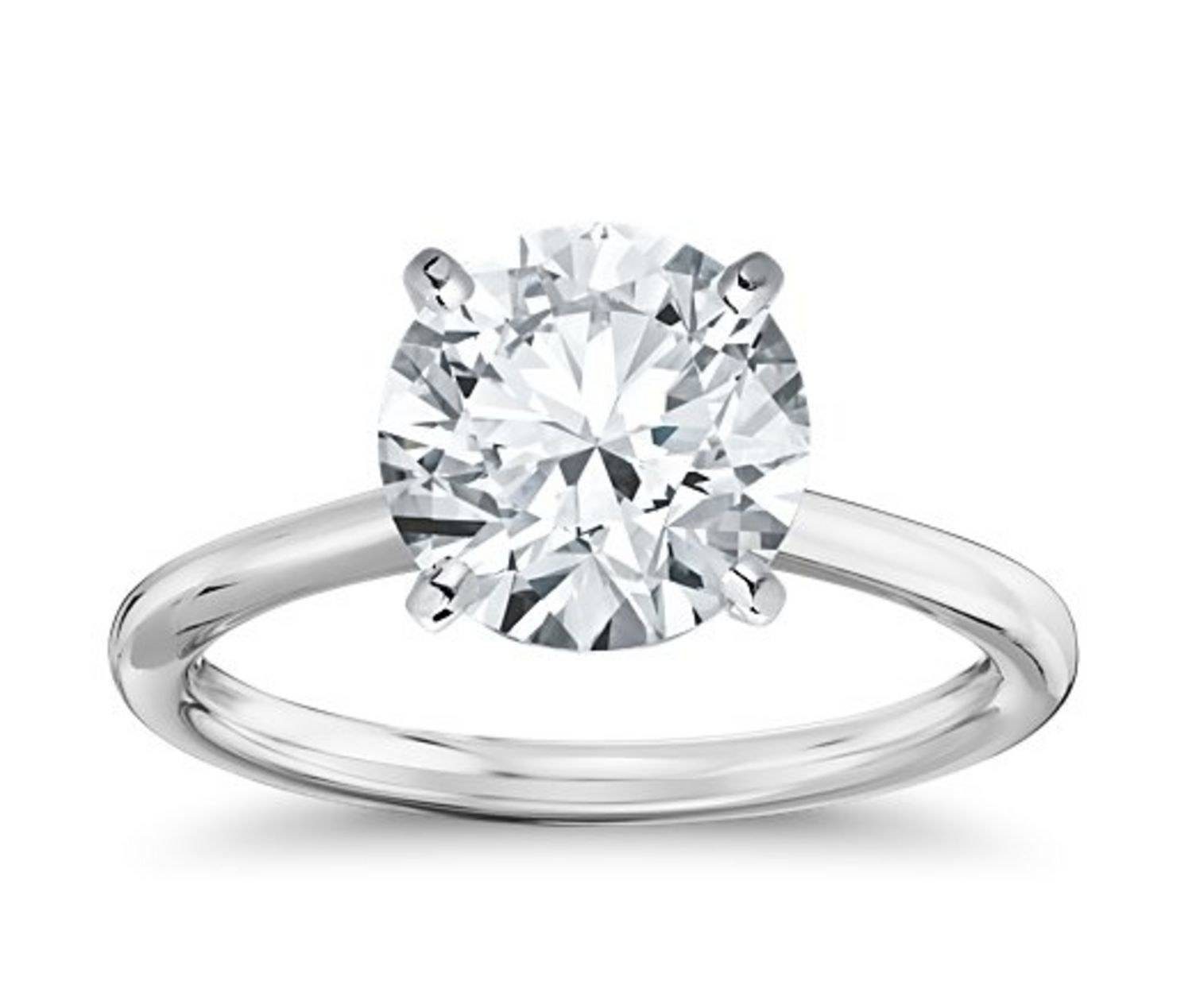 Lauren Conrad's Engagement Ring: 5 Sparklers Inspiredthe Bling Pertaining To One Rings Engagement Rings (View 13 of 15)