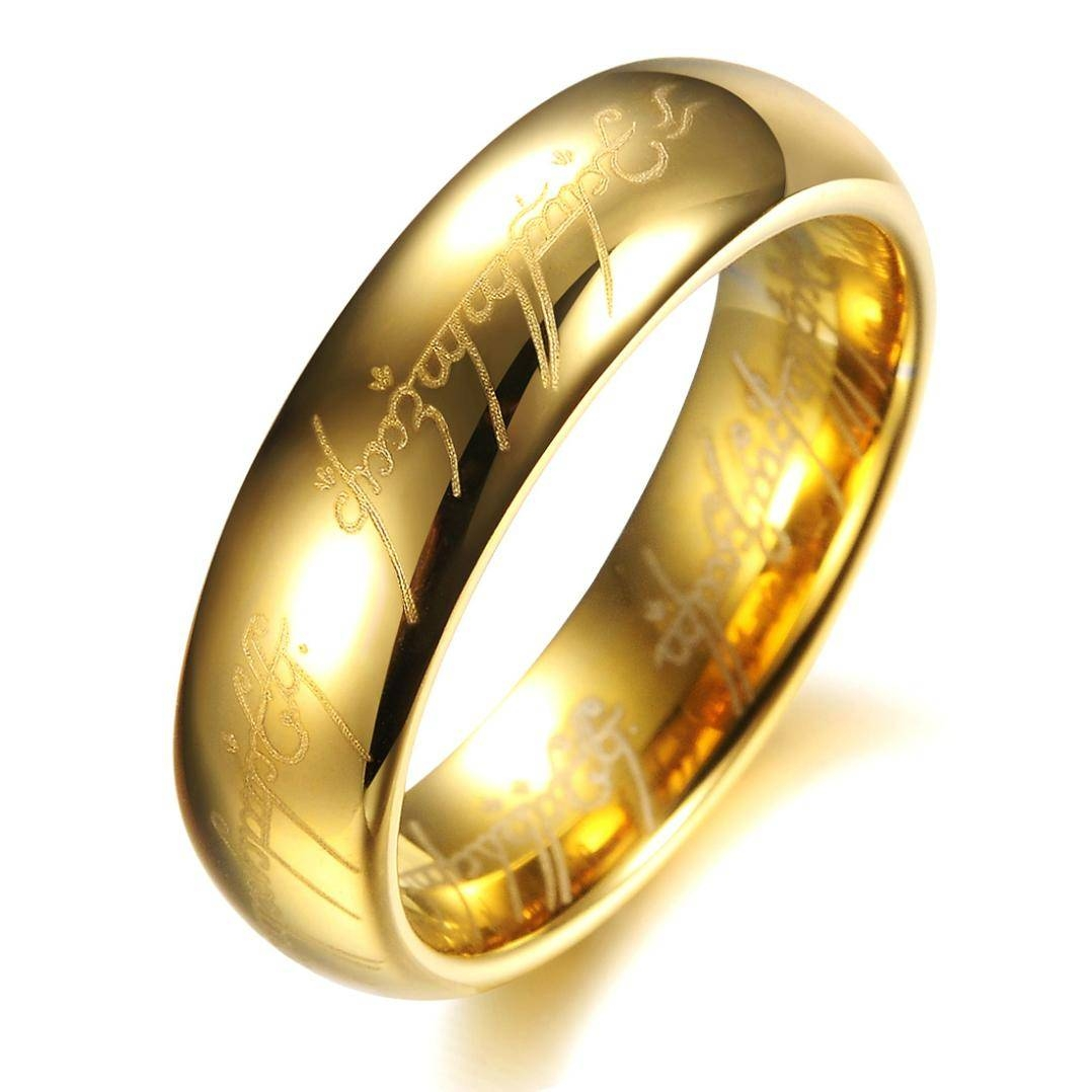 Lord Of The Rings Wedding Band – #pr Energy Within Lord Of The Rings Wedding Bands (View 1 of 15)
