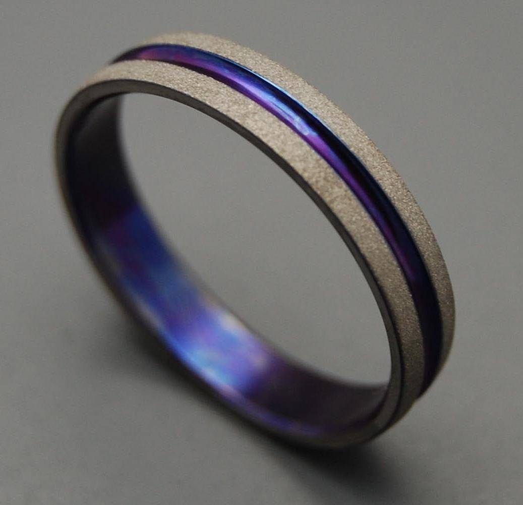 Lorene's Blog: January 2012 Throughout Purple Wedding Bands (View 8 of 20)