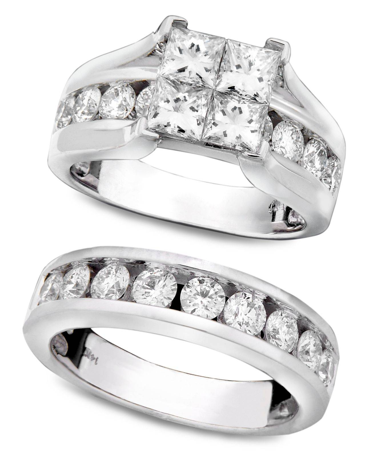 Macy Wedding Rings With Regard To Macys Men's Wedding Bands (View 14 of 15)