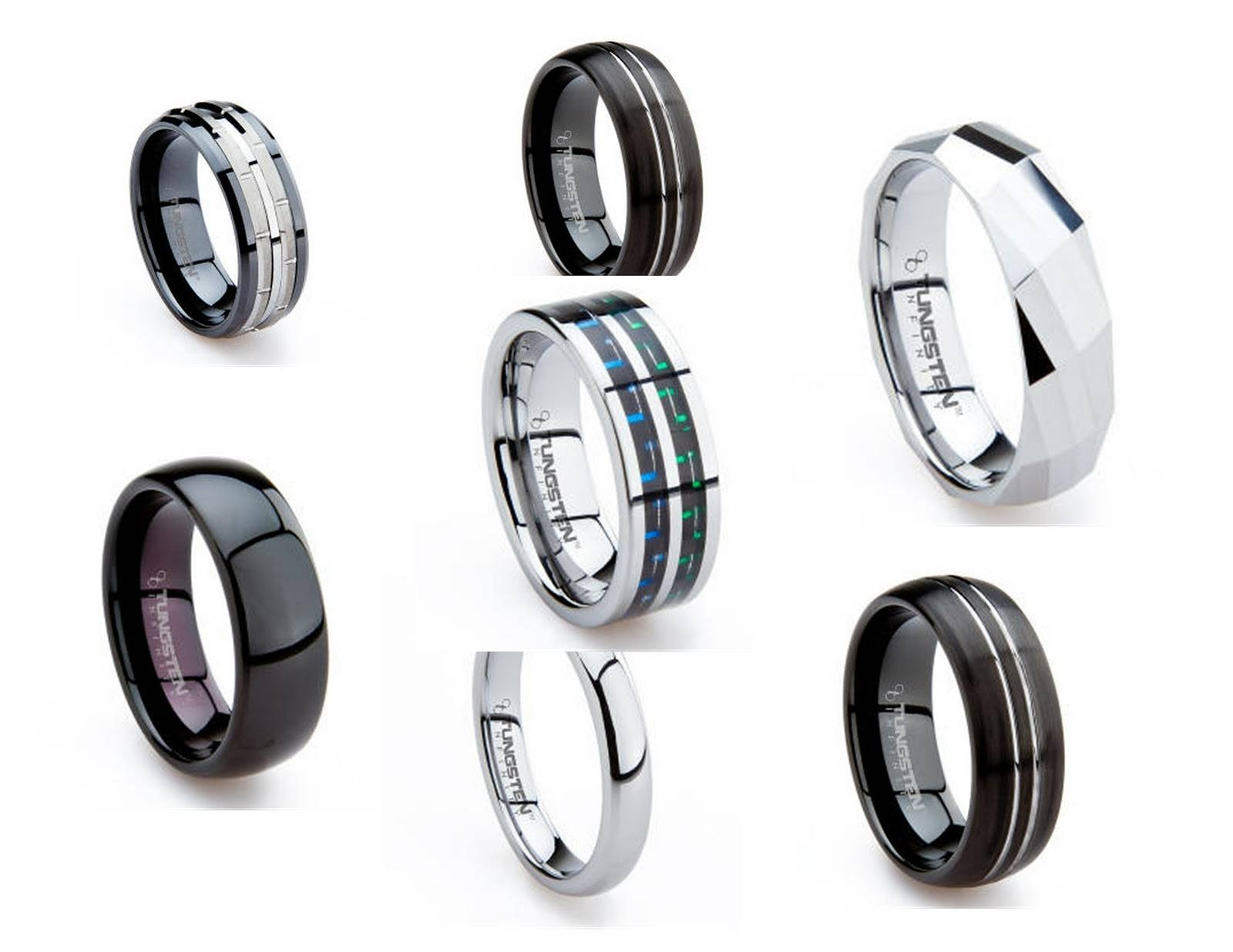 Make A Statement With A Mens Tungsten Wedding Band – Dee Says Regarding Tungsten Wedding Bands For Her (View 7 of 15)