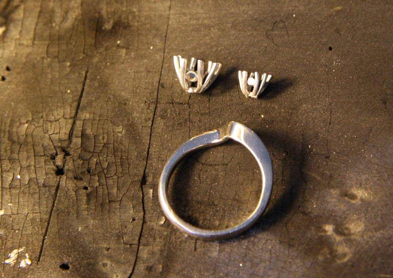 Making A Bespoke Engagement Ring | Erica Sharpe Pertaining To Homemade Engagement Rings (View 8 of 15)