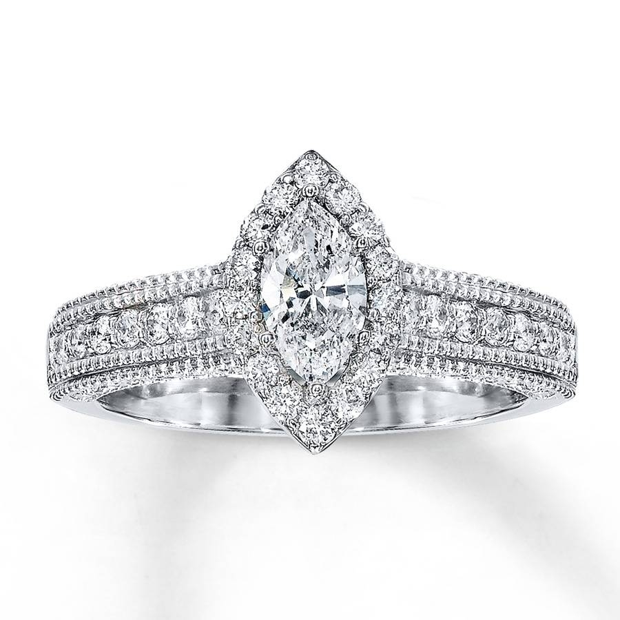 Marquise Diamond Engagement Rings – 2017 Wedding Ideas Magazine For Jared Vintage Engagement Rings (View 14 of 15)
