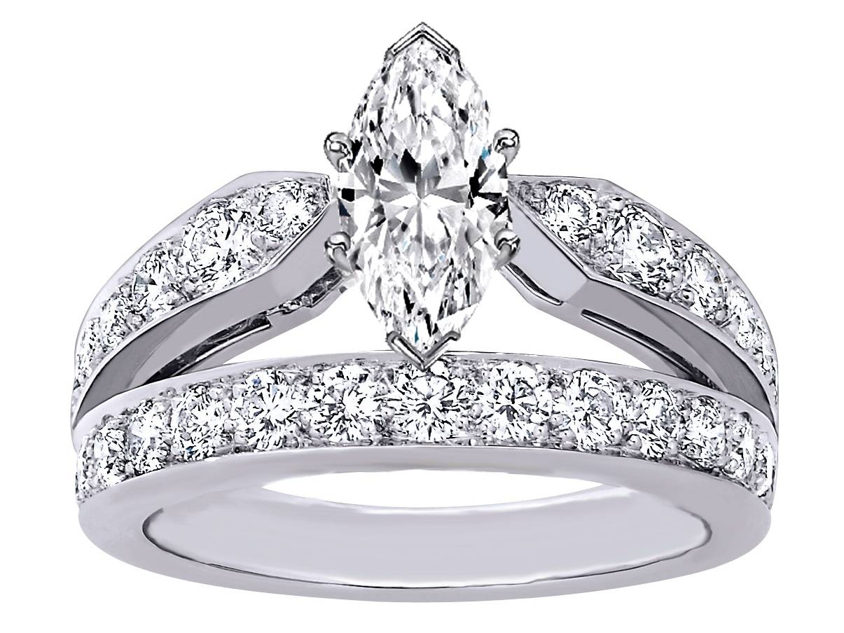 marquise engagement rings from mdc diamonds nyc with marquise cut diamond wedding rings sets - Marquise Wedding Rings