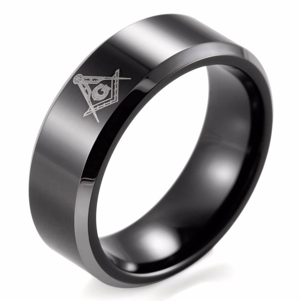 Masonic Wedding Band – Snow412 Throughout Masonic Wedding Bands (View 5 of 15)