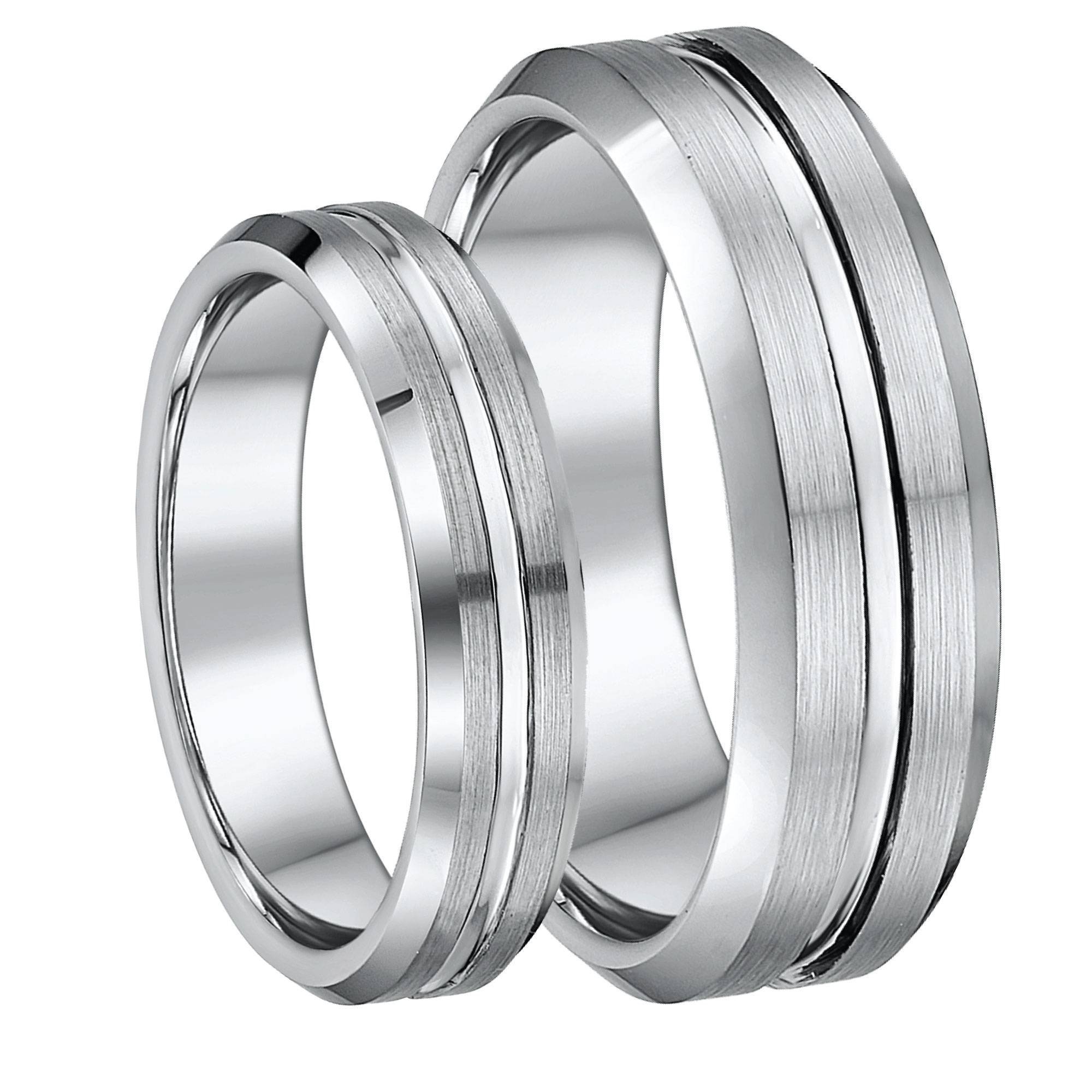 Matching Tungsten Wedding Ring Sets For Him And Her, Lowest Prices Inside Tungsten Wedding Bands Sets His And Hers (View 14 of 15)