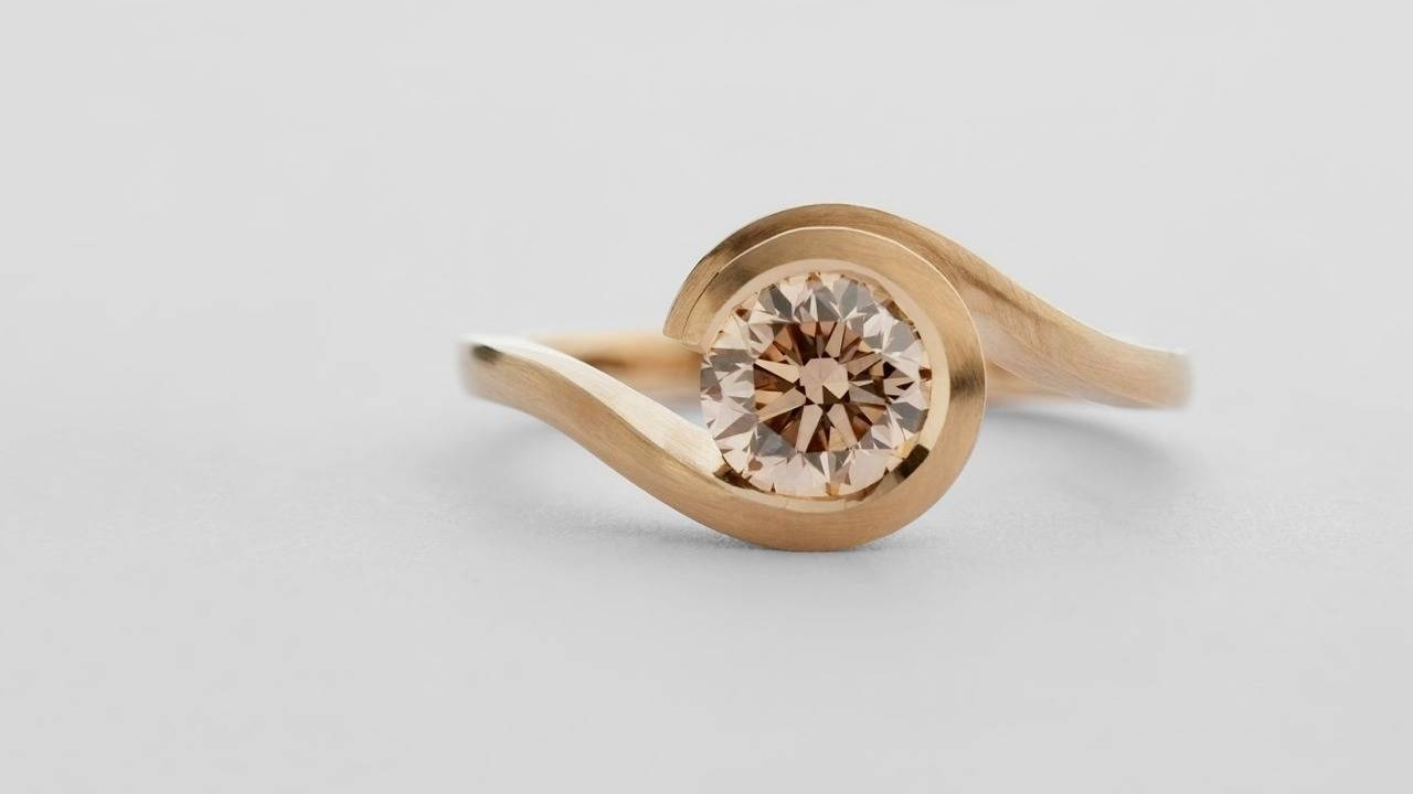 Mccaul Goldsmiths – Contemporary Engagement Rings And Fine Jewellery Inside Contemporary Wedding Rings (Gallery 2 of 15)