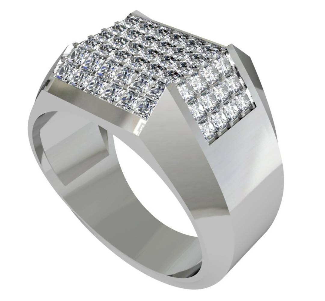 Men Diamond Rings Choices | Wedding, Promise, Diamond, Engagement With Mens Wedding Rings With Diamonds (View 10 of 15)