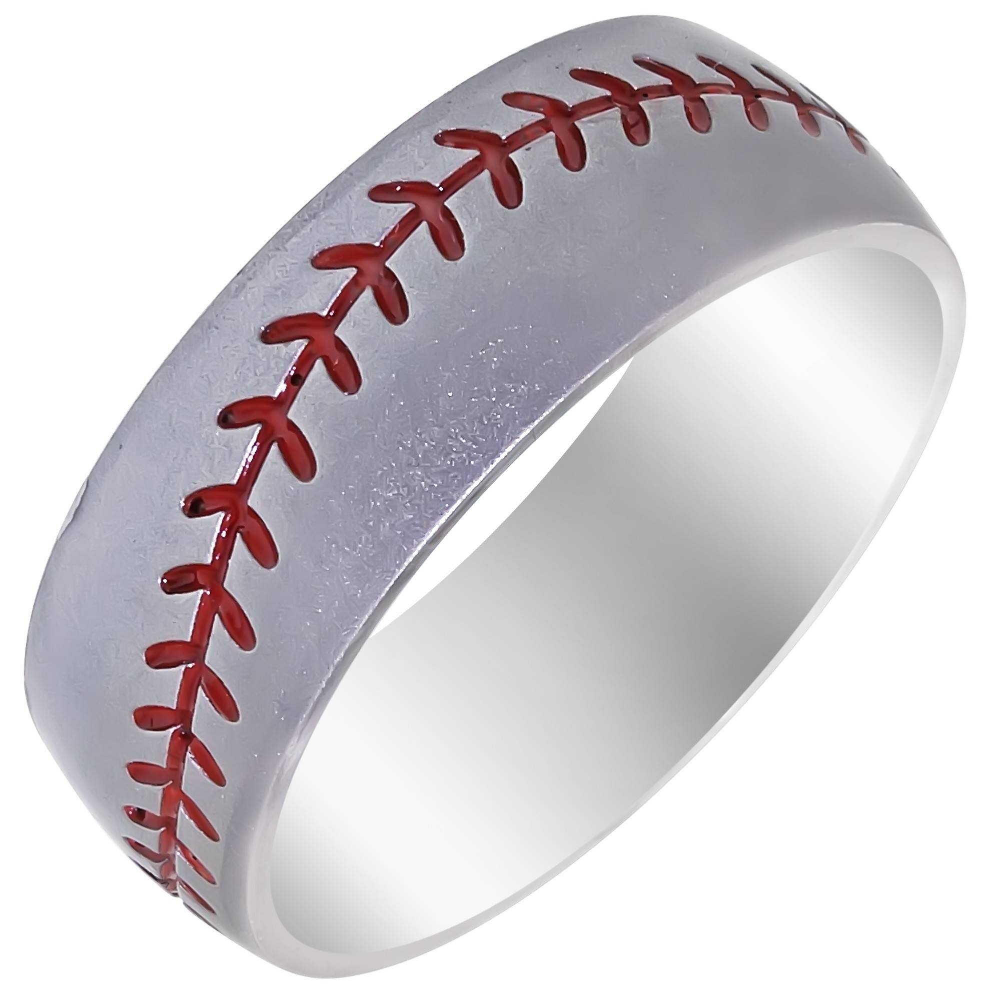 Featured Photo of Mens Baseball Wedding Bands