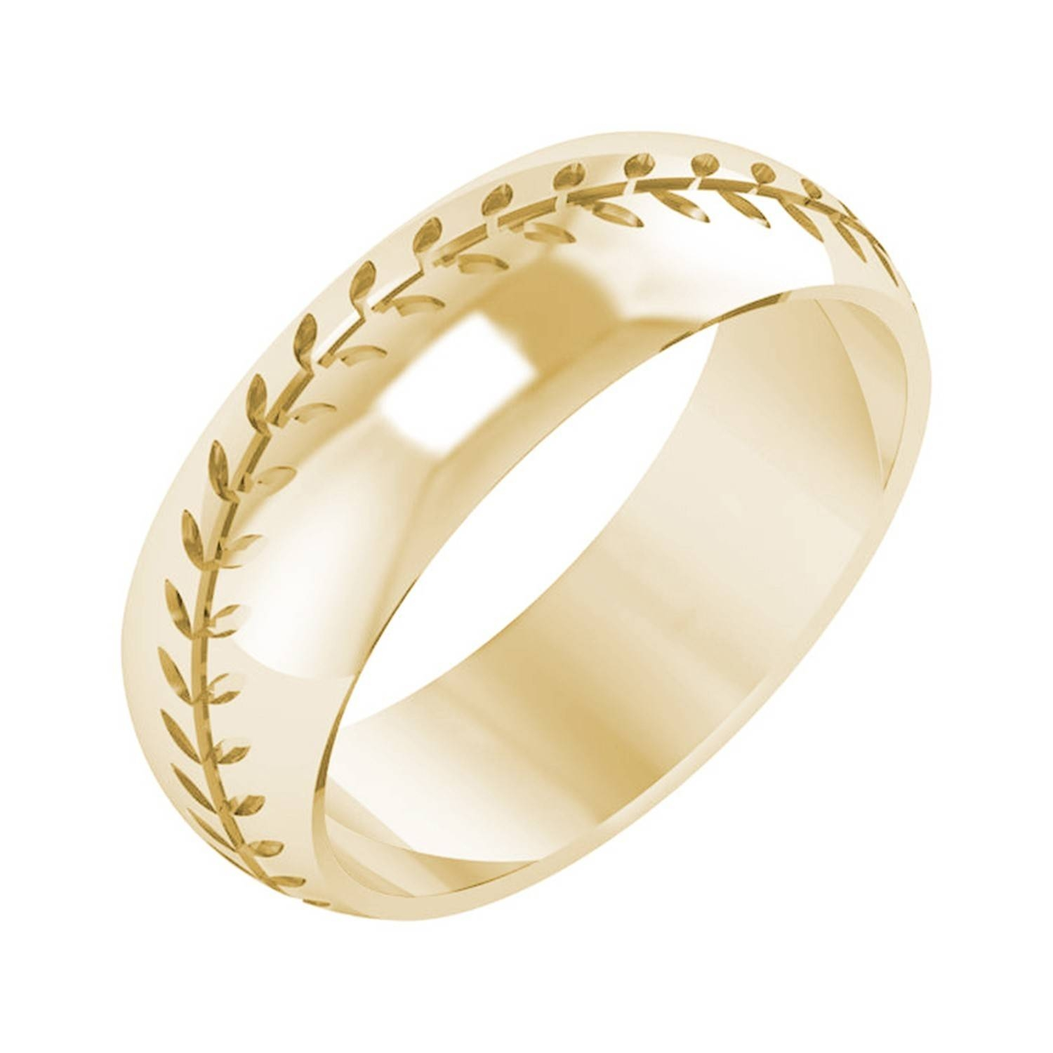 Mens Baseball Wedding Ring Unique 71Mm Mens Etched Baseball Design Inside Mens Baseball Wedding Bands (View 11 of 15)