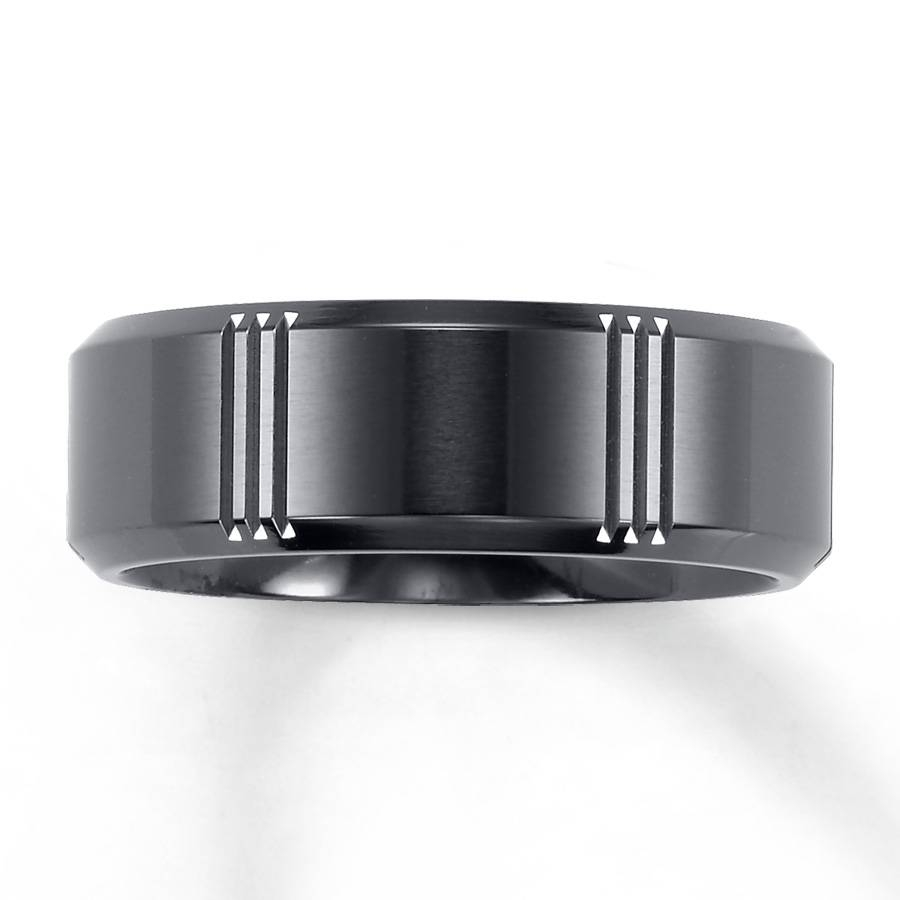 Mens Black Triton Wedding Bands Triton Wedding Bands: Great For Kay Jewelers Wedding Bands For Him (View 11 of 15)