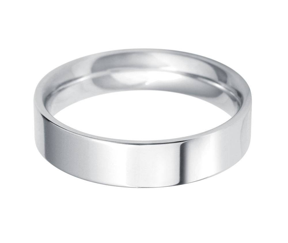 Mens Plain Wedding Rings | Wedding, Promise, Diamond, Engagement For White Gold Male Wedding Bands (View 11 of 15)