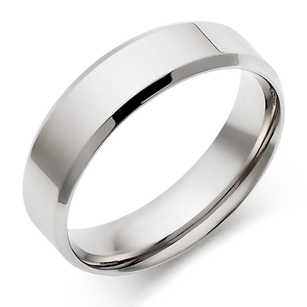 Mens Platinum Wedding Bands For The Wedding | Wedding Ideas With Platinum Wedding Rings For Him (View 13 of 15)