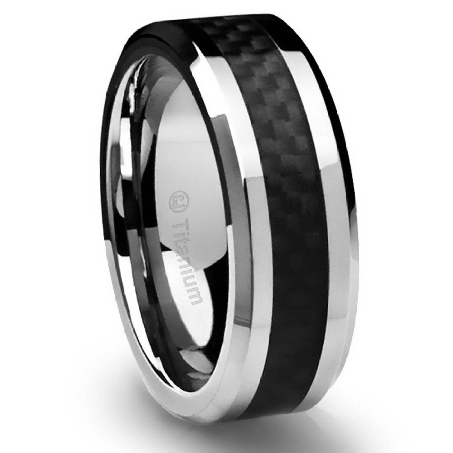 Mens Wedding Bands 2016: Coolest Ideas – Elasdress Regarding Black And Silver Mens Wedding Rings (View 10 of 15)