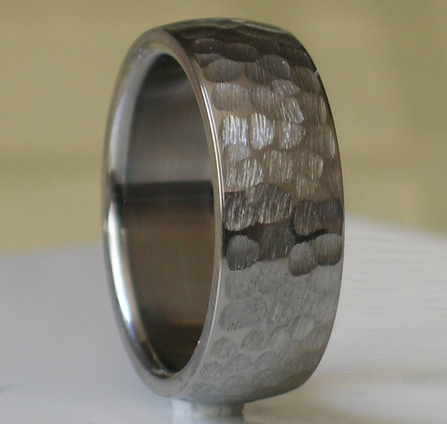 Mens Wedding Ring Hammered – Jewelry Ideas Intended For Hammered Tungsten Men's Wedding Bands (View 10 of 15)