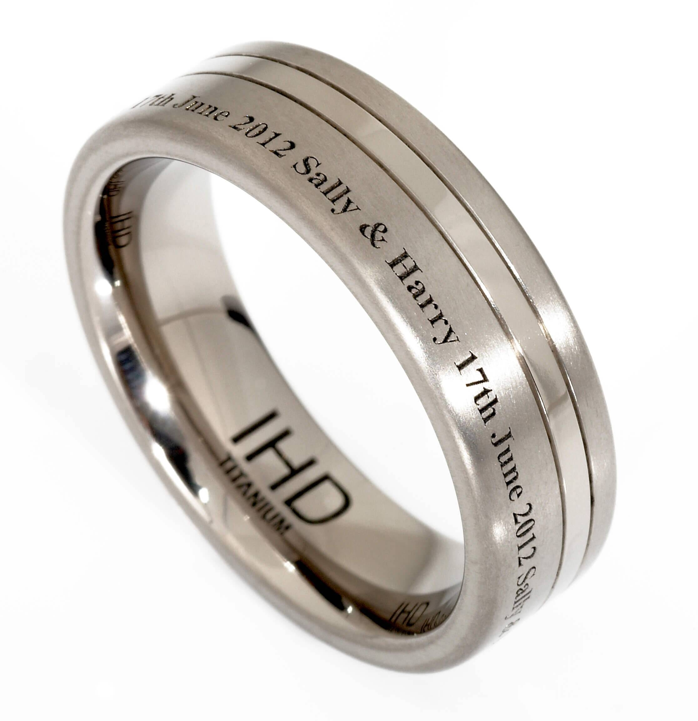 Men's Wedding Rings Archives – Iain Henderson Designs In Engravable Men's Wedding Bands (View 5 of 15)