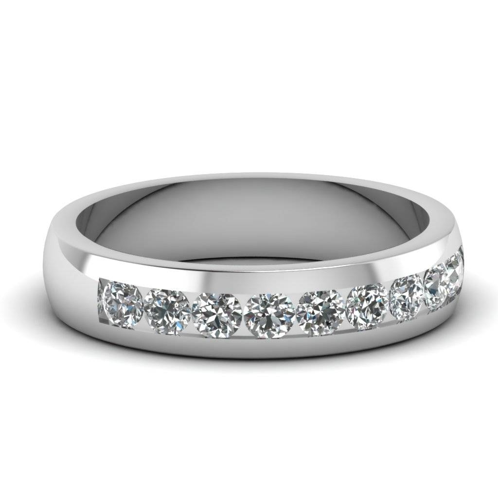 Mens Wedding Rings White Gold With Diamonds | Wedding, Promise Intended For Wedding Rings With Diamonds (Gallery 12 of 15)