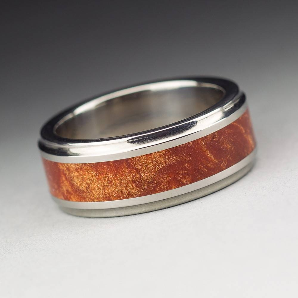 Mens Wooden Wedding Bands As Alternative Rings Intended For Custom Wedding Bands For Him (View 9 of 15)