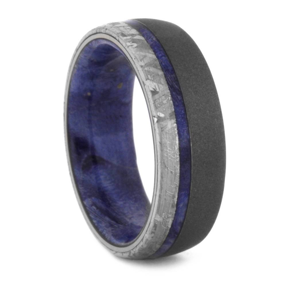 Meteorite Mens Wedding Bands – Why So Popular? – Mens Wedding Bands Intended For Men's Wedding Bands Meteorite (View 6 of 15)