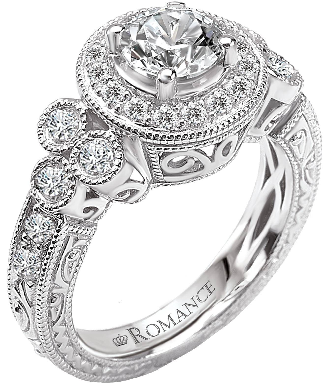 Featured Photo of Modern Vintage Wedding Rings