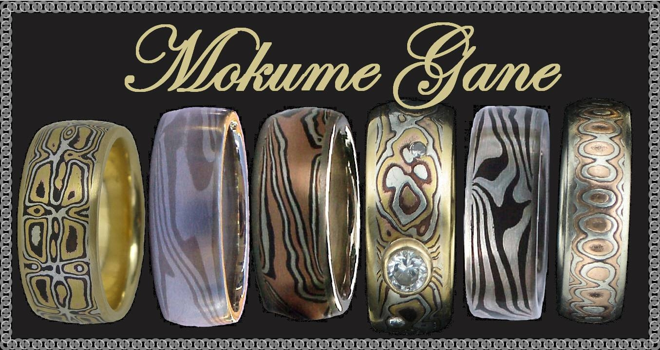 Featured Photo of Mokume Mens Wedding Bands