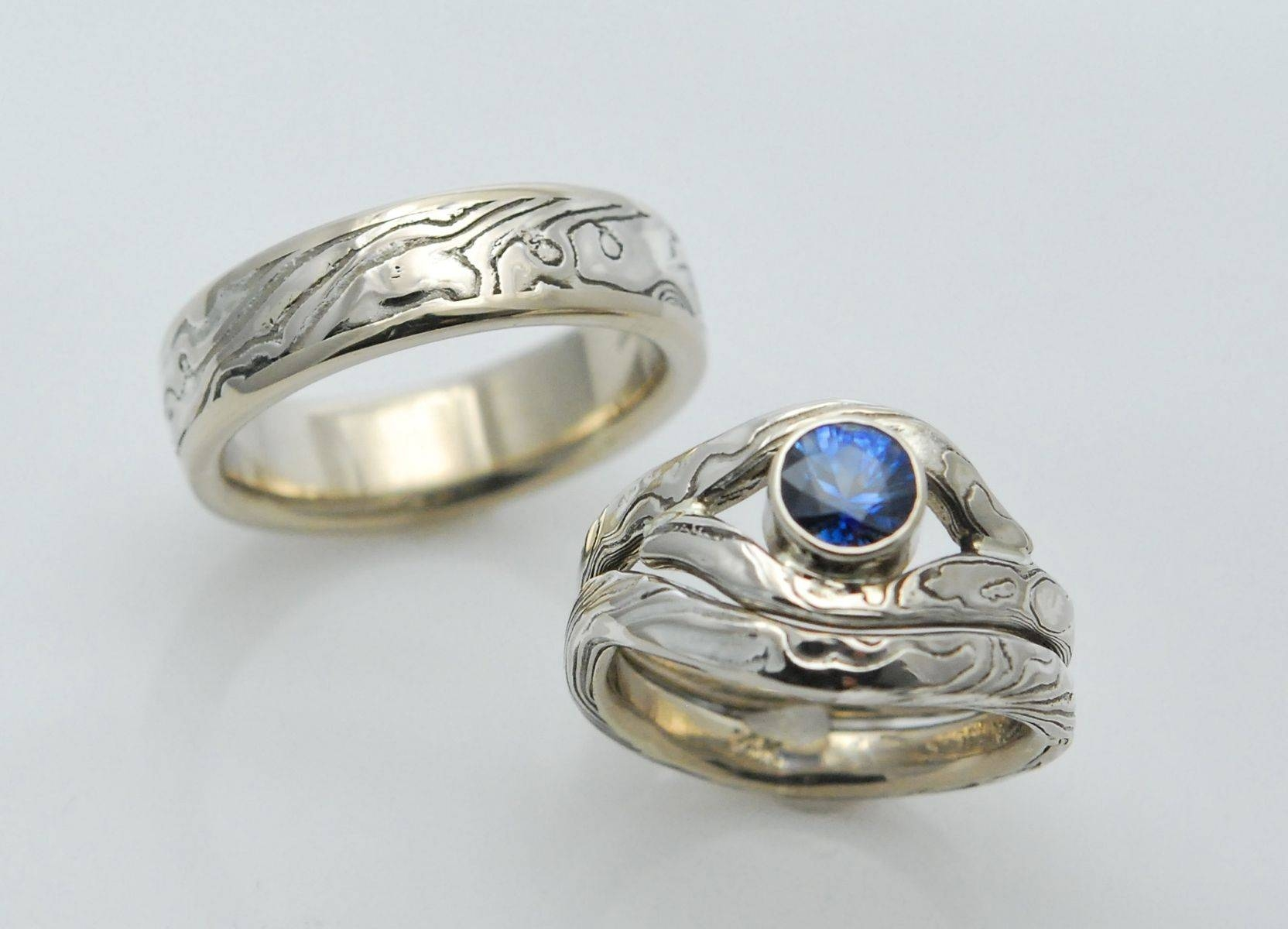 Mokume Gane Rings | Mokume Wedding Bands And Engagement Rings With Regard To Mokume Wedding Bands (View 5 of 15)