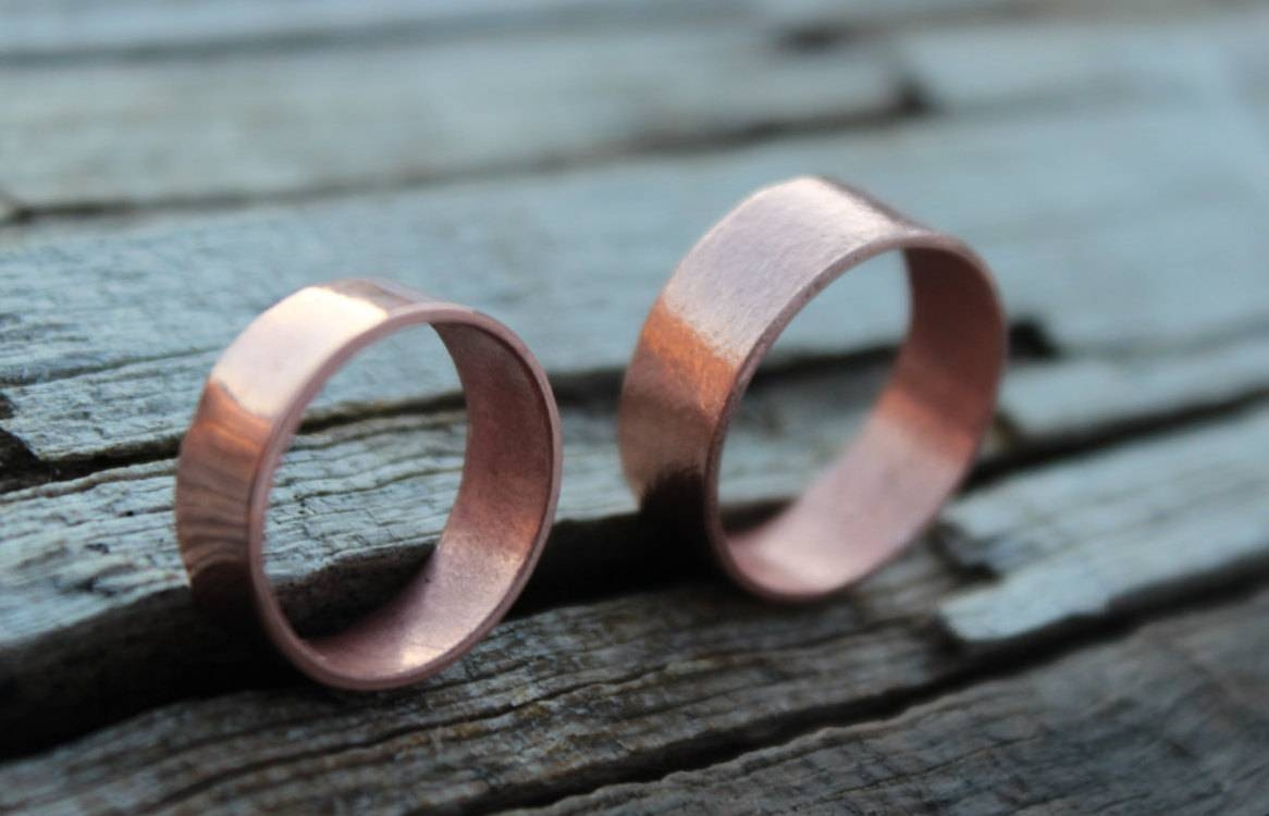 Mountainursusdesigns Regarding Copper Men's Wedding Bands (View 5 of 15)