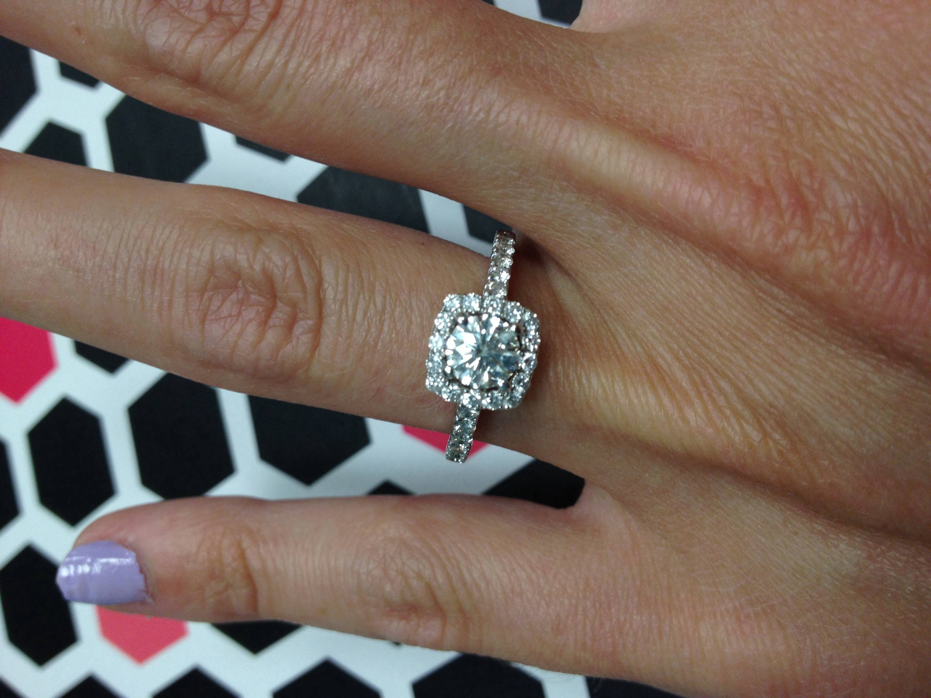 Featured Photo of Size 4 Diamond Engagement Rings