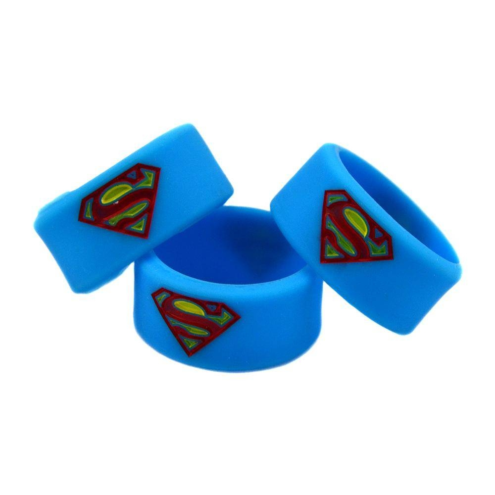 New Arrival Batman, Superman And Captain America Silicone Thumb Intended For Captain America Wedding Bands (View 9 of 15)